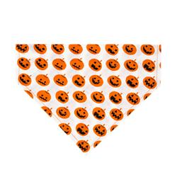 Pumpkin Land Dog Bandana - Over the Collar Style in 5 Sizes |  BUY 10 GET 1 FREE