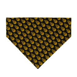 Scary Skulls Dog Bandana - Over the Collar Style in 5 Sizes |  BUY 10 GET 1 FREE