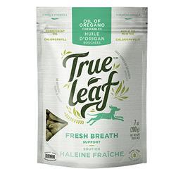 TRUE LEAF DOG/CAT FRESH BREATH CHEWABLES 200G