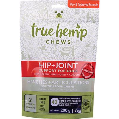 TRUE LEAF DOG HIP/JOINT CHEW 200G