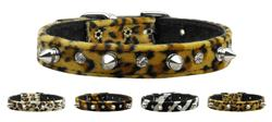 Animal Print Crystal and Spike Collars
