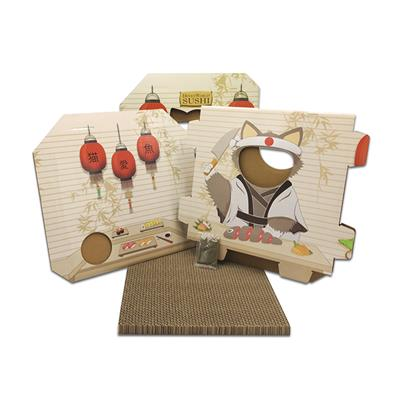 FUNBOX WITH SCRATCHER BOARD - SUSHI