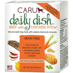 CARU DOG STEW DAILY BEEF & CHICKEN 12.5OZ (Case of 12)