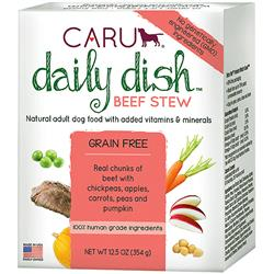CARU DOG STEW DAILY BEEF 12.5OZ (CASE OF 12)