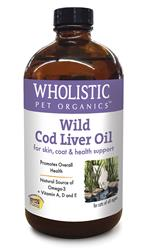 Wholistic Feline Wild Cod Liver Oil™ - 4oz.