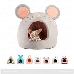Mouse Novelty Hut Grey