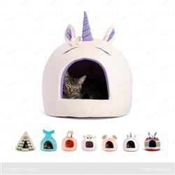 Unicorn Novelty Hut Pink