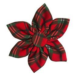 Red Tartan Pinwheel by Huxley & Kent