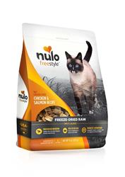NULO FREESTYLE FREEZE-DRIED RAW CHICKEN & SALMON CAT FOOD 8OZ