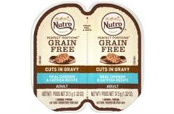 NUTRO PERFECT PORTIONS CHICKEN AND CATFISH IN GRAVY WET CAT FOOD 2.6OZ