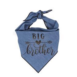 Big Brother Denim Classic Tie Dog Bandana  |  BUY 10 GET 1 FREE