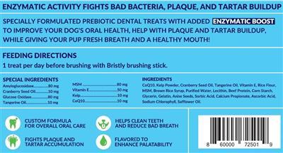 Bristly PreBiotic Dental Treats