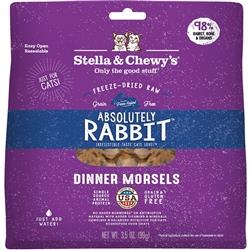 STELLA & CHEWY'S CAT FREEZE-DRIED RABBIT DINNER 3.5OZ