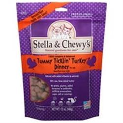 STELLA & CHEWYS CAT FREEZE DRIED TUMMY TICKLIN' TURKEY DINNER 3.5 OZ.