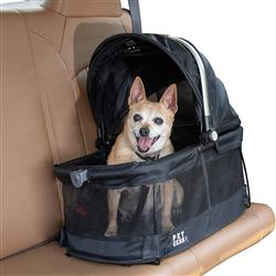 Black VIEW 360 Pet Carrier & Car Seat
