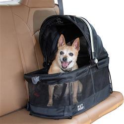 Black VIEW 360 Pet Carrier & Car Seat