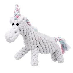 "8"" Unicorn Rope Toy by Jax & Bones"