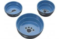 ETHICAL PRODUCTS SPOT FRESCO DISH CAT BLUE 5IN