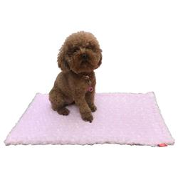 Rosebud blanket size small, Pink