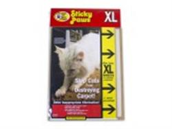 STICKY PAWS FOR CARPET SHEETS X-LARGE 5PK