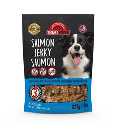 Treatworx Salmon Jerky - 227g./8oz.