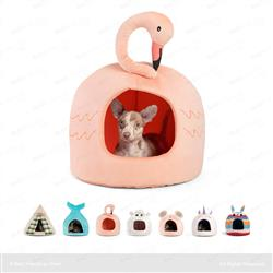 Flamingo Novelty Hut Peach