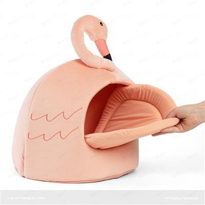 Flamingo Novelty Hut Peach