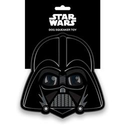 Star Wars Darth Vader Head Pet Plush Squeaker Toy by Buckle-Down
