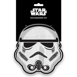 Star Wars Stormtrooper Head Pet Plush Squeaker Toy by Buckle-Down