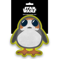 Star Wars Porg Full Body Pet Plush Squeaker Toy by Buckle-Down