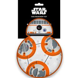 Star Wars BB-8 Full Body Top View Pet Plush Squeaker Toy by Buckle-Down