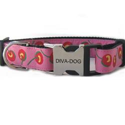 Cherries Dog Collar - Clearance