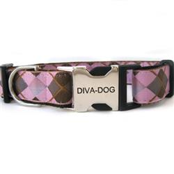 Argyle Dog Collar - Clearance