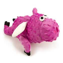 goDog - Bubble Plush Flying Pig Large Bright Pink