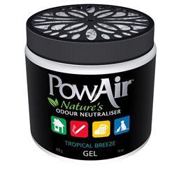 PowAir Odor Neutralizer GEL Tropical Breeze  14 oz
