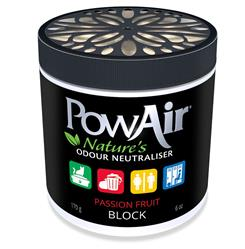 PowAir Odor Neutralizer BLOCK  Passion Fruit 6 oz