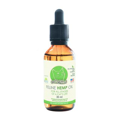 Catchies Catnip Oil - Hemp Extract – 150mg