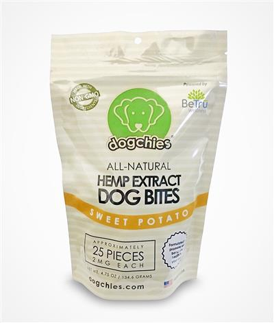 Dogchies Hemp Extract Treats - 50mg