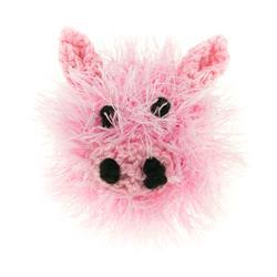 Ball Head w/ Bell-Pig (Handmade)