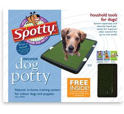 Spotty Indoor Potty Pad, House Training Pet Puppy Dog Artificial Grass Turf Pee Mat