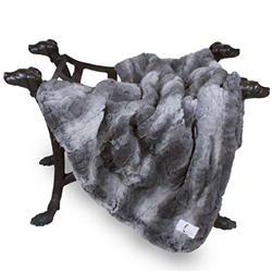 Deluxe Dog Blanket: Granite