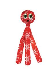 Holiday Flyerz Snowflake Toy - Red Medium