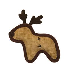 Hempyz Holiday Reindeer Toy - Brown