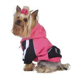 Pink Stripe Hoodie