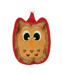 Holiday Invincibles Owl Toy - Brown