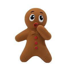 Tootiez Gingerbread Man Grunting / Squeak Toy