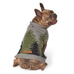 Eddie Bauer PET Treeline Sweater in Gray/Green by PetRageous Designs!