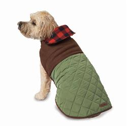 Eddie Bauer PET Quilted Barn Jacket in Sprig Green by PetRageous Designs!