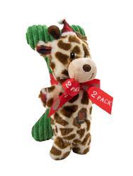 Mitten Mates Holiday Giraffe and Bone - 2 Pack