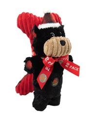 Snuggle Babies Holiday Bear and Bone - 2 Pack